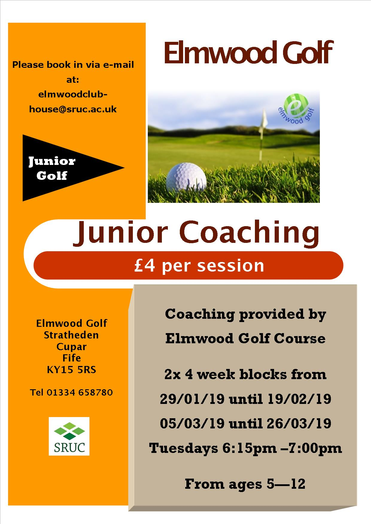 junior coaching poster - 2019